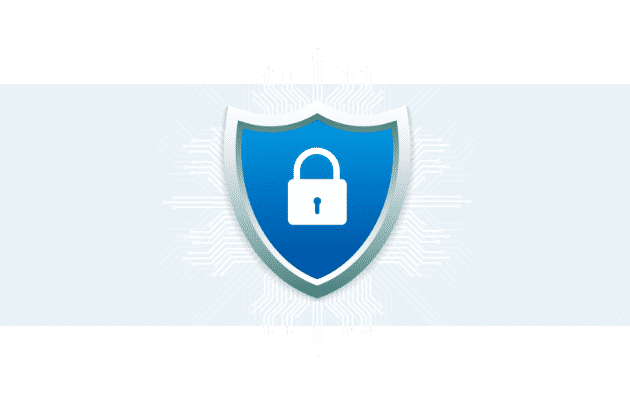 Locked shield with data symbols